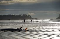 Chesterman Beach busy with surfers