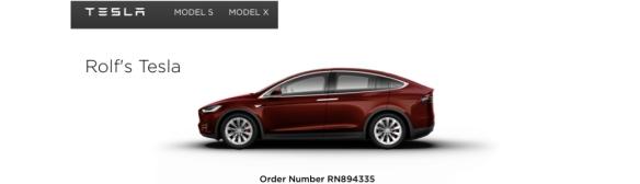 Rolf's Tesla
