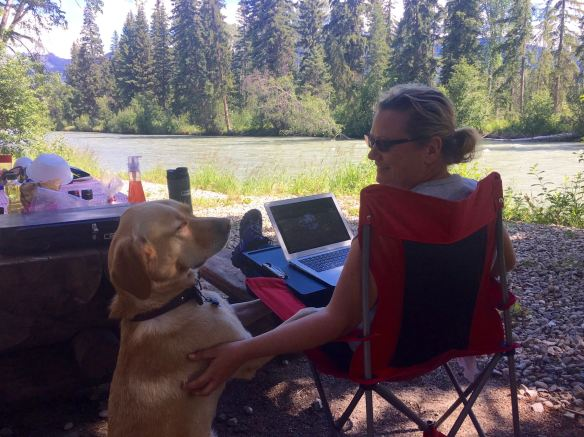 2016-06-20 Canoe River Campground - 1