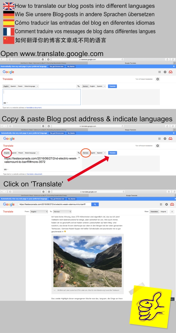 How to translate