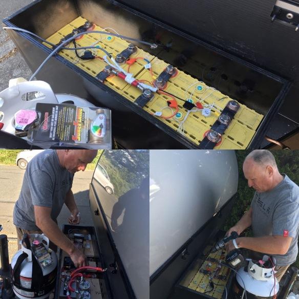 trailer battery - 1